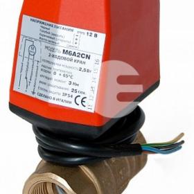 Кран с электроприводом De Pala 12v 1/2D